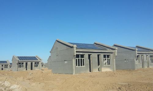 家庭楼顶钢架棚设计实景图