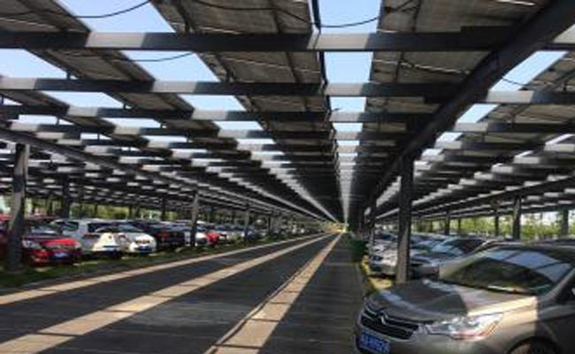 安徽合力停车场+分布式光伏电站