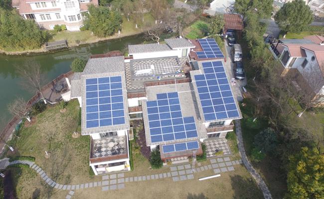 生茂养园别墅居民屋顶光伏电站项目
