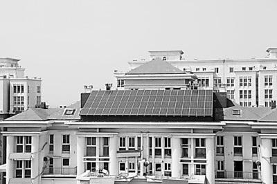 家庭楼顶天台设计实景图