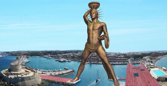 希腊将打造太阳能罗德岛太阳神铜像