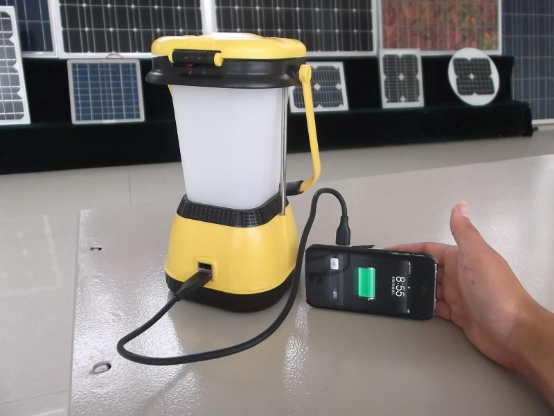 太阳能野营灯 - 充电器 - 太阳能发电网